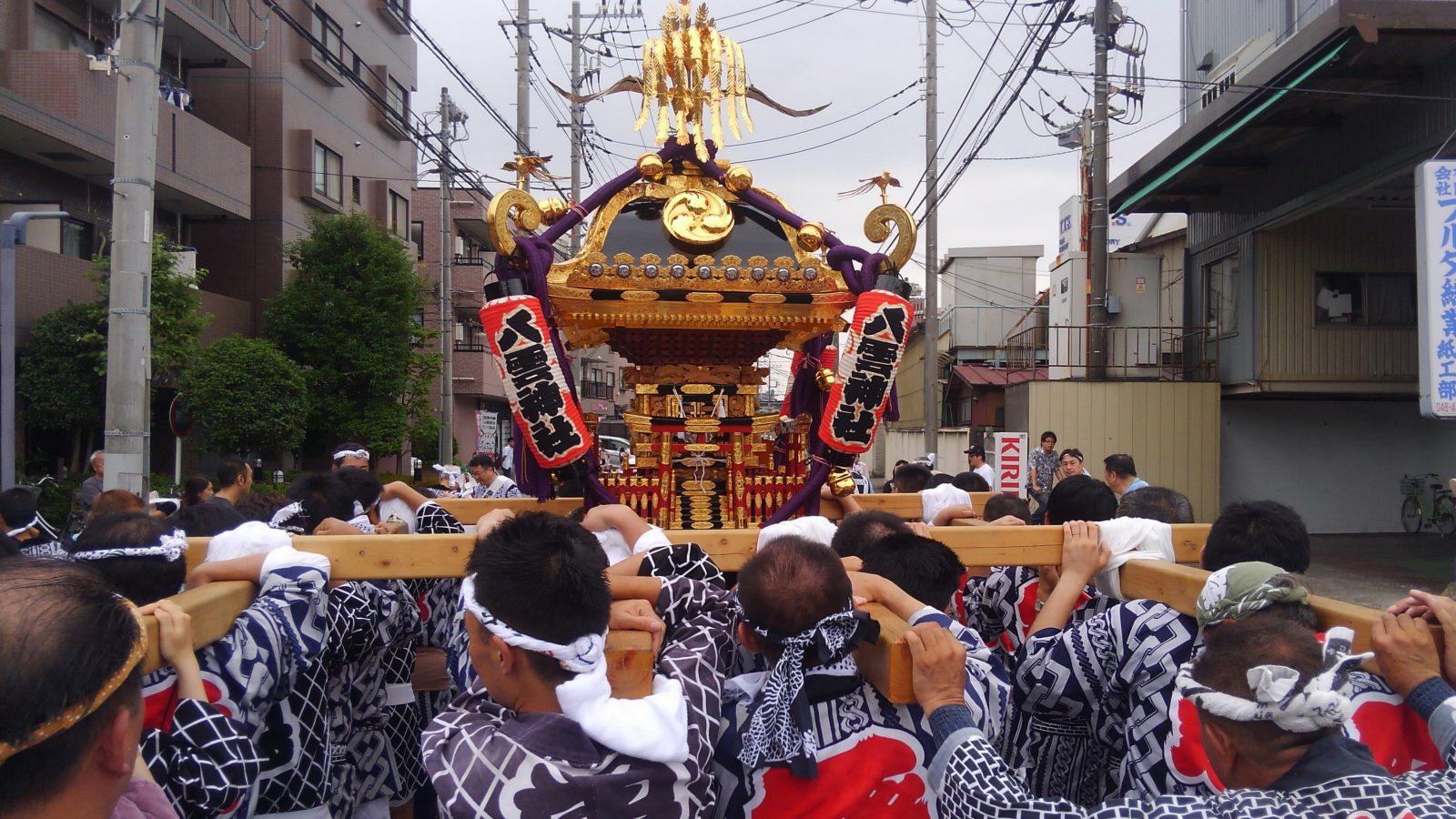 町会夏祭りでお神輿担ぎを楽しみました | 【真木大輔】戸田市議会議員